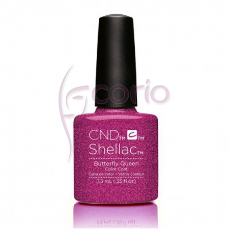 Lakier Cnd Shellac Butterfly Queen