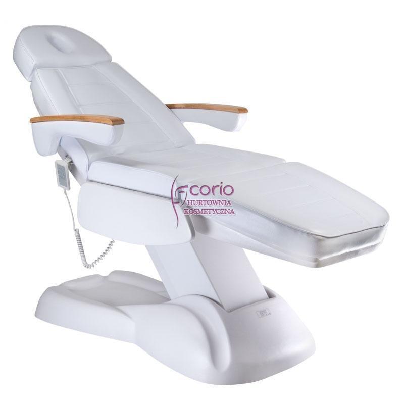 Fotel Kosmetyczny Lux 273b Elek 3 Silniki Biały